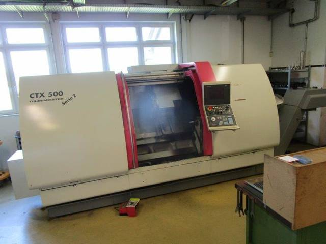more images Lathe machine DMG CTX 500 Serie 2 V3