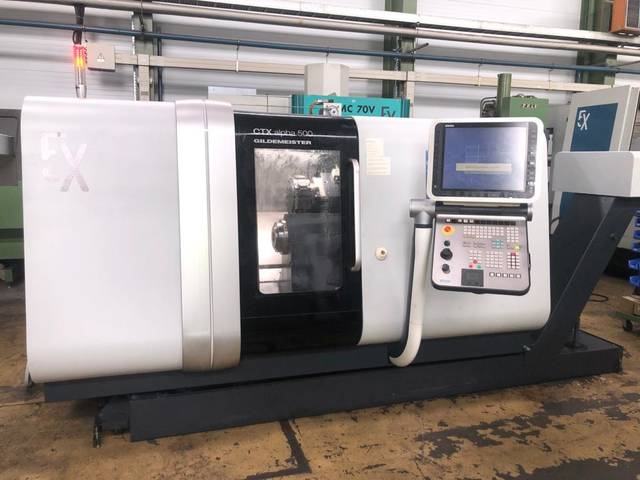 more images Lathe machine DMG CTX alpha 500 V6