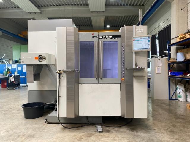 more images Milling machine DMG DMC 60 H linear