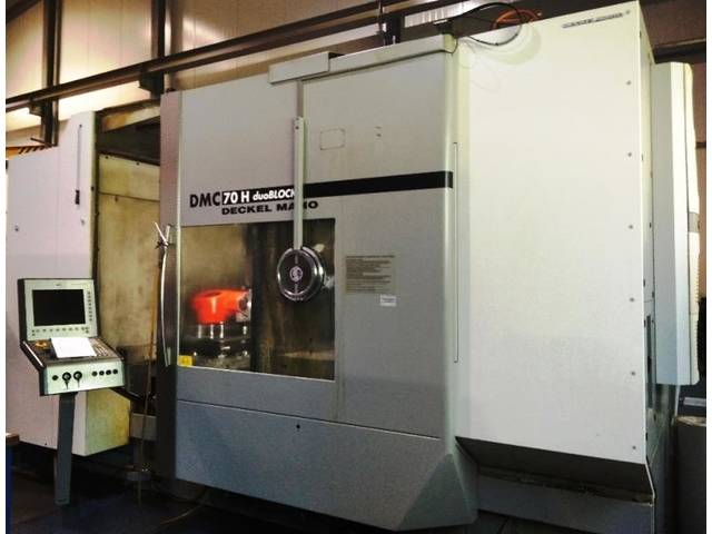 more images Milling machine DMG DMC 70 H duoBlock