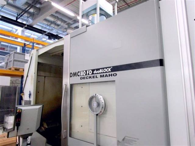 more images Milling machine DMG DMC 80 FD duoBlock, Y.  2006