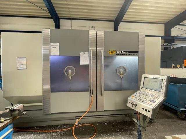 more images Milling machine DMG DMF 200 L