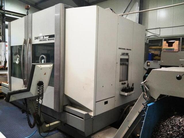 more images Milling machine DMG DMF 220 Linear, Y.  2007