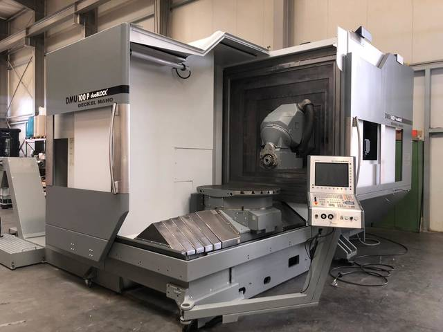more images Milling machine DMG DMU 100 P, Y.  2007
