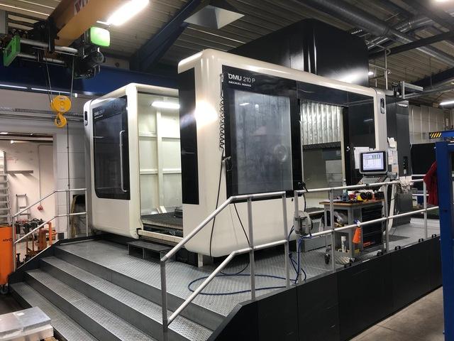 more images Milling machine DMG DMU 210 P, Y.  2016