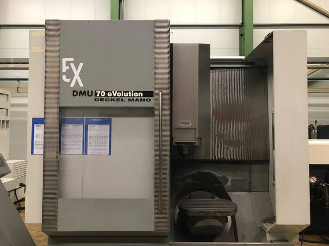 more images Milling machine DMG DMU 70 Evo
