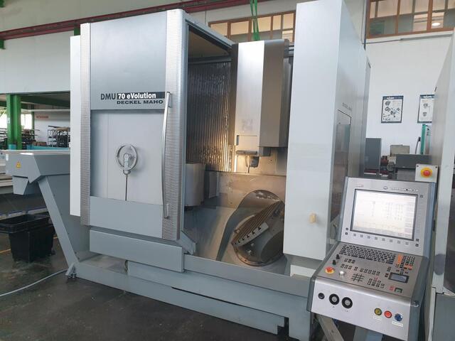 more images Milling machine DMG DMU 70 Evo