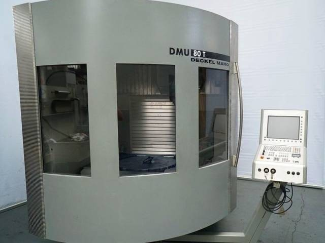 more images Milling machine DMG DMU 80 T