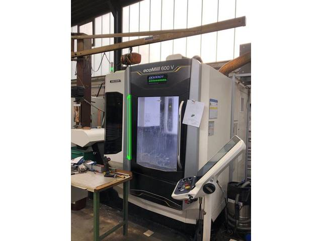 more images Milling machine DMG ecoMill 600V , Y.  2016
