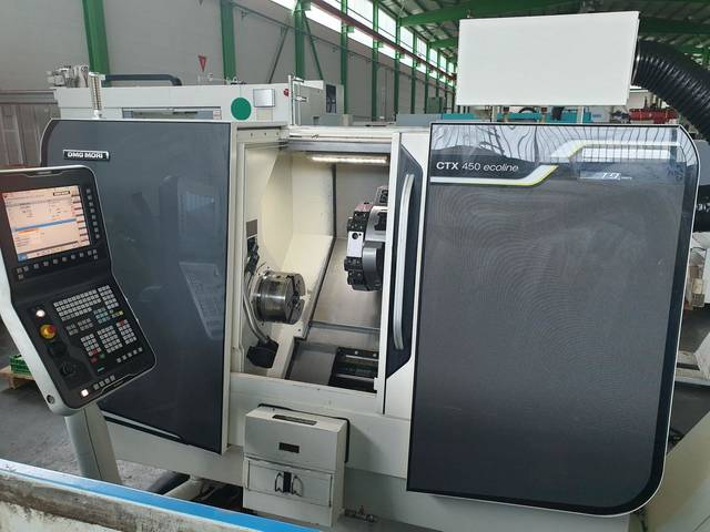 more images Lathe machine DMG Gildemeister CTX 450 ecoline