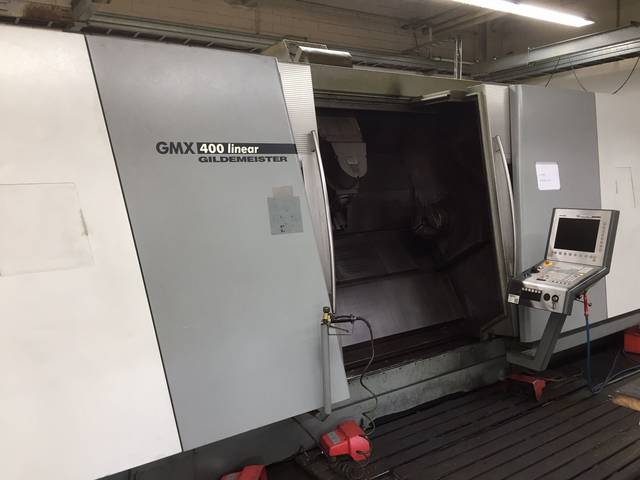 more images Lathe machine DMG GMX 400 Linear