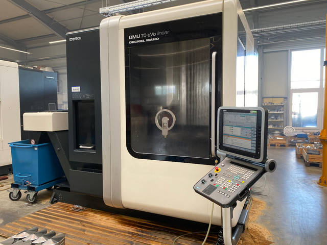 more images Milling machine DMG Mori DMU 70 Evo Linear