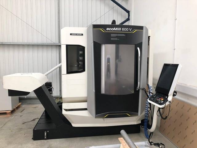 more images Milling machine DMG Mori ecoMill 600V, Y.  2016