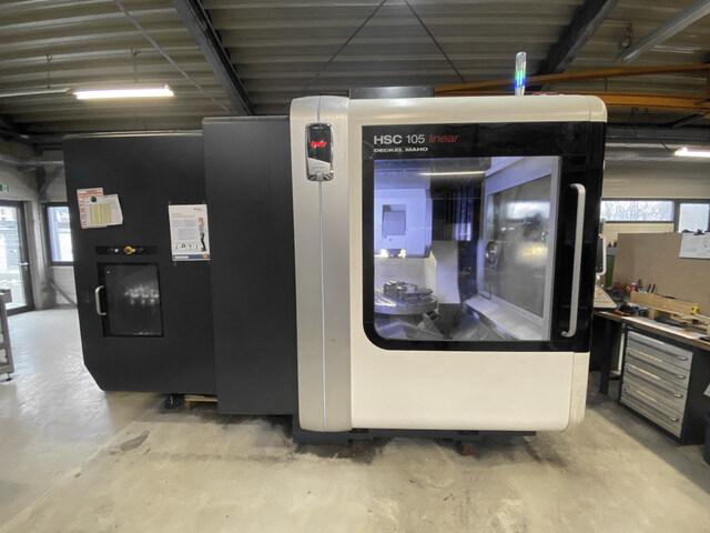 more images Milling machine DMG Mori HSC 105 Linear