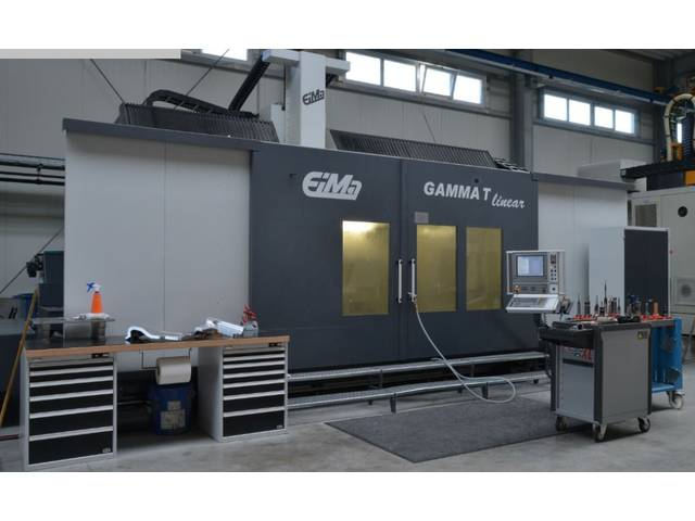 more images EIMA Gamma T linear Portal milling machines