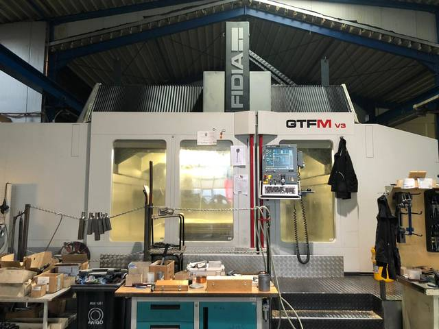 more images Fidia GTFM V3 Portal milling machines