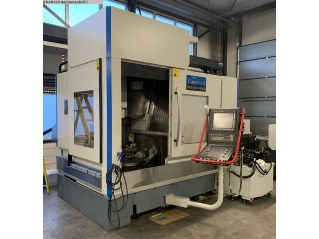 more images Milling machine Finetech GTX 620-5x