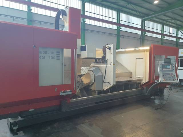 more images Milling machine Hedelius RS 100 K