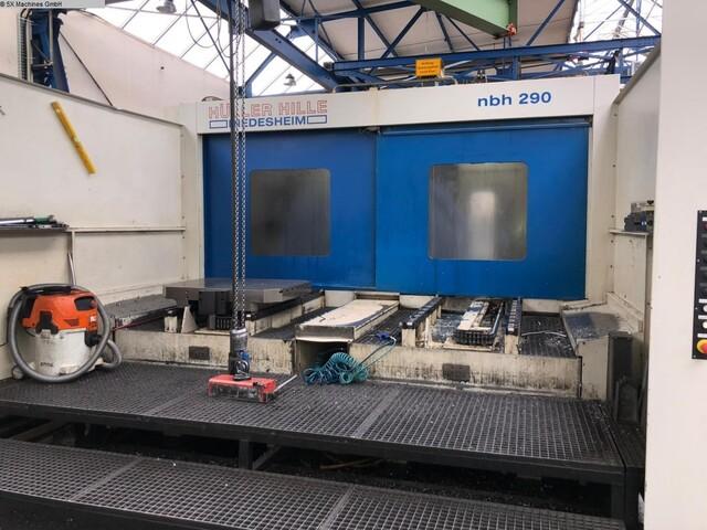 more images Milling machine Hüller Hille NBH 290, Y.  2001