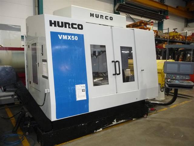 more images Milling machine Hurco VMX 50 /40 T NC Schwenkrundtisch B+C axis