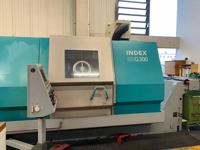 more images Lathe machine Index G 300