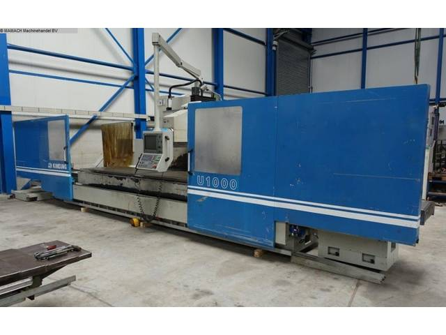 more images Kiheung KNC - U 1000 Bed milling machine