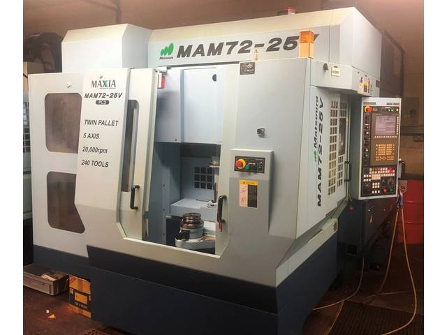 more images Milling machine Matsuura MAM 72 25V
