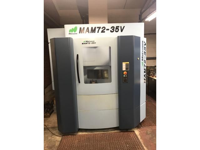 more images Milling machine Matsuura MAM 72 35V