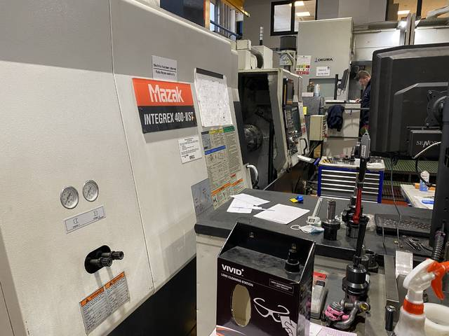 more images Lathe machine Mazak Integrex 400 III ST