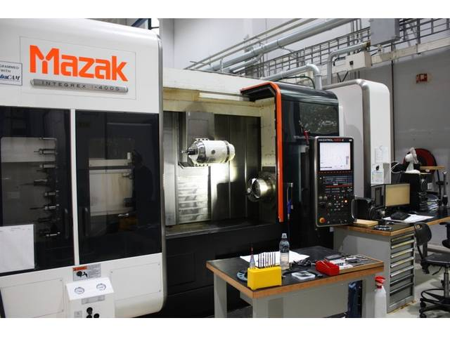 more images Lathe machine Mazak integrex i 400 S  1.500 U