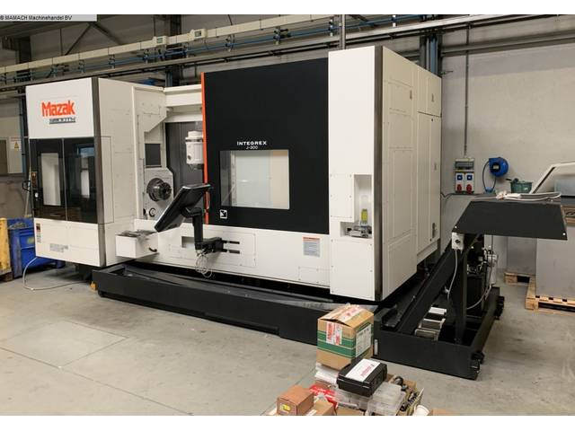 more images Lathe machine Mazak Integrex J300 x 1200