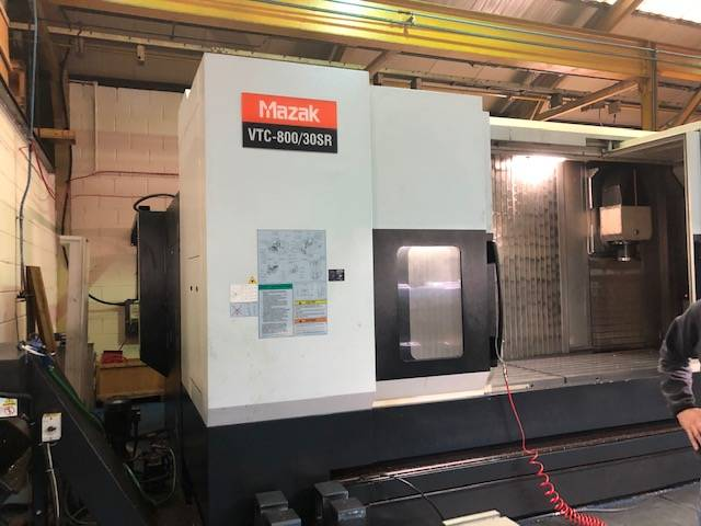 more images Milling machine Mazak VTC 800 / 30 SR, Y.  2010