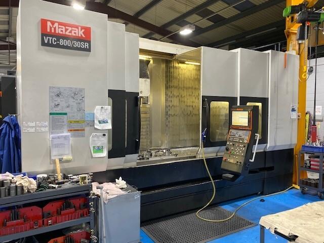 more images Milling machine Mazak VTC 800 / 30 SR, Y.  2008