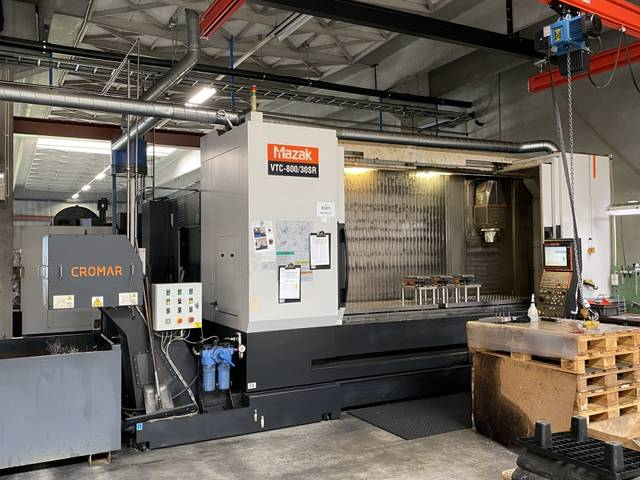 more images Milling machine Mazak VTC 800 - 30 SR