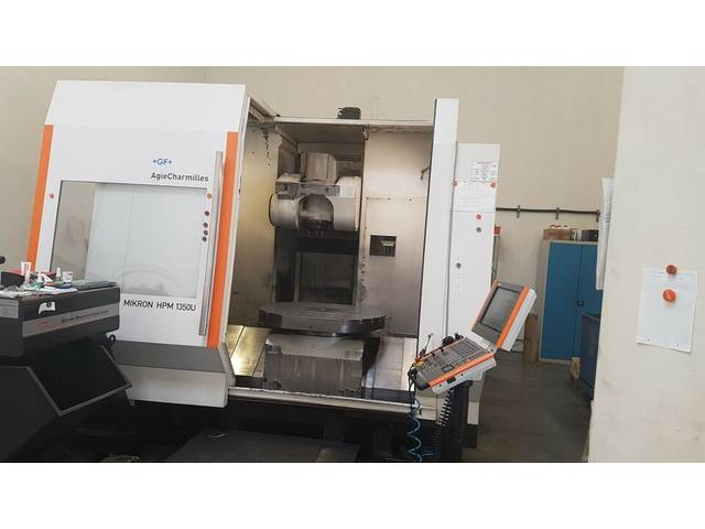 more images Milling machine Mikron HPM 1350 U