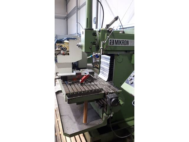 more images Milling machine Mikron WF 3 DCM, Y.  1990