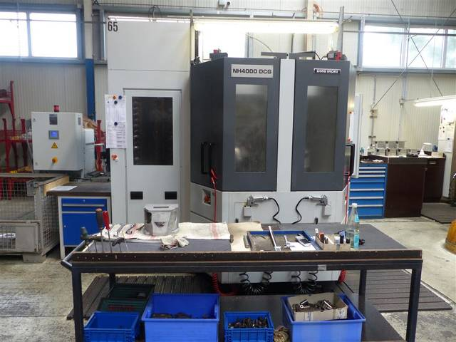 more images Milling machine Mori Seiki NH 4000 DCG, Y.  2015
