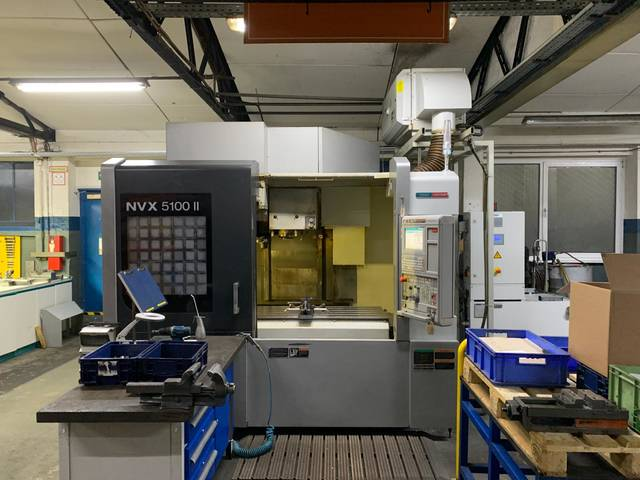 more images Milling machine Mori Seiki NVX 5100 II 40