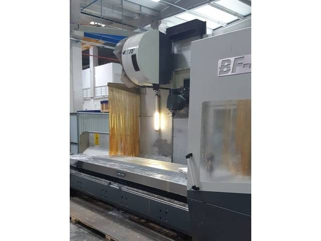 more images MTE BF 4200 Bed milling machine