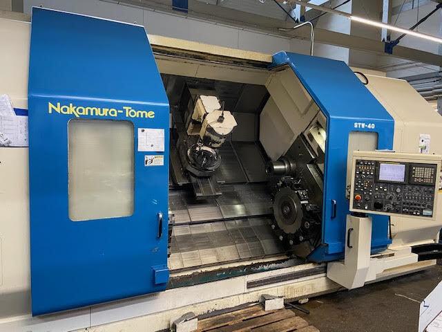 more images Lathe machine Nakamura STW - 40