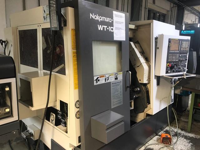 more images Lathe machine Nakamura WT 100 MMY