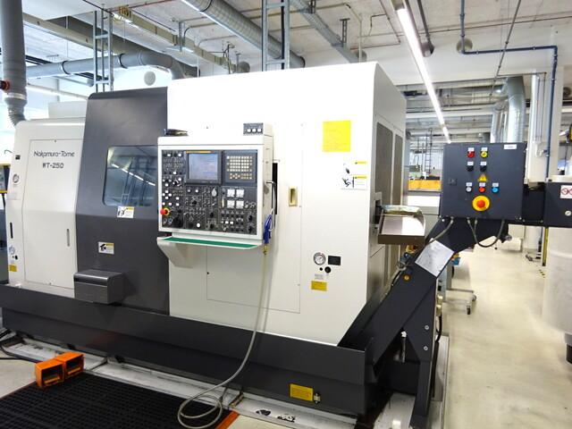 more images Lathe machine Nakamura WT 250 MMY