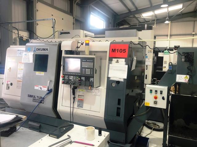more images Lathe machine Okuma LU 300 M 2SC 600