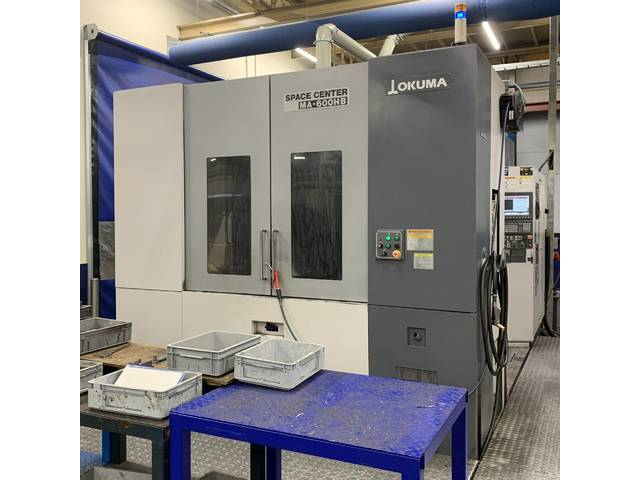 more images Milling machine Okuma MA 600 HB, Y.  2006