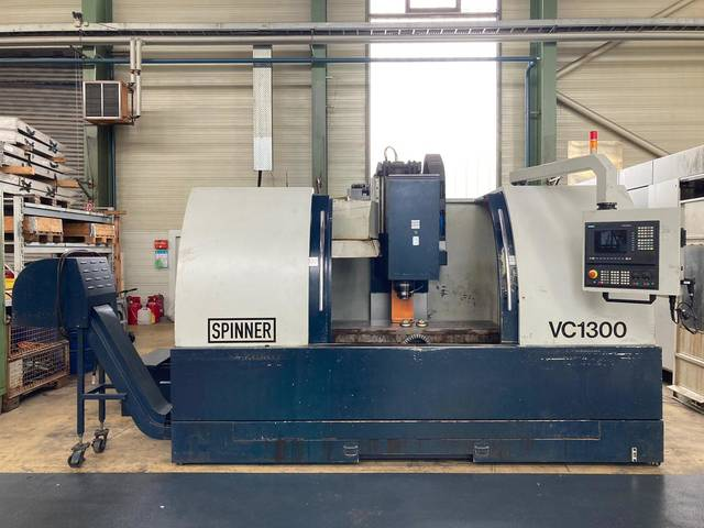 more images Milling machine Spinner VC 1300