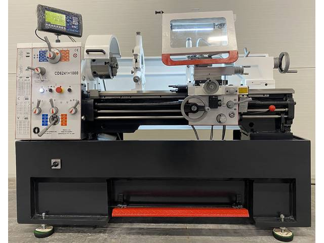 more images ToRen CD 6241 x 1500 Conventional Lathe