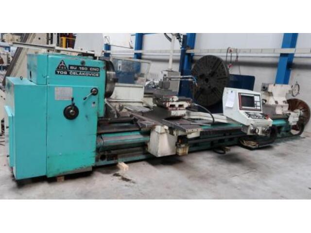 more images Lathe machine TOS SU 150 CNC 5000