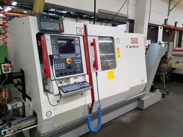 more images Lathe machine Traub TNC 42 DG