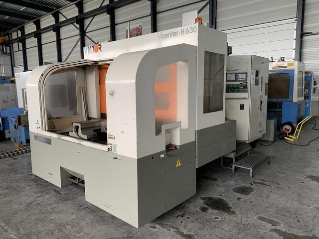 more images Milling machine VICTOR V-Center H 630, Y.  2000
