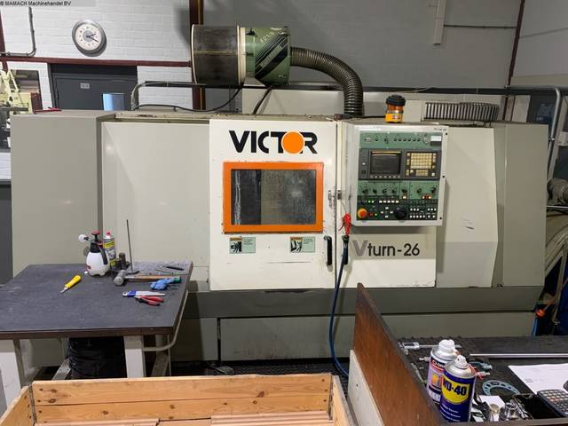 more images Lathe machine Victor V-Turn 26 / 100 CV